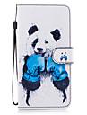 케이스 제품 Samsung Galaxy S8 Plus S8 카드 홀더 지갑 스탠드 플립 마그네틱 패턴 전체 바디 케이스 동물 하드 PU 가죽 용 S8 Plus S8 S7 edge S7 S6 S5