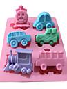 Outils de cuisson Silicone Vacances / 3D / A Faire Soi-Meme Gateau / Chocolat / Glace Moule de Cuisson 1pc