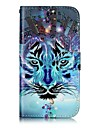 For Samsung Galaxy J3 (2016) J3 (2017) Case Cover Card Holder Wallet Embossed Pattern Full Body Case Animal Hard PU Leather for J3 J2 Prime