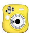 Etuis-Une epaule-Appareil photo numerique-Fujifilm--Jaune Incanardin Bleu