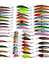 56 pcs Minnow Fishing Lures Hard Bait Minnow Lure Packs g / Ounce mm inch, Plastic Bait Casting