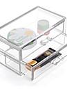 текстильный / пластик Овал Пластик / Дорожные Главная организация, 1шт Коробки для хранения / Ящики / Органайзеры для шкафа