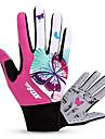 BAT FOX Спортивные перчатки Жен. Перчатки для велосипедистов Осень Весна Зима Велоперчатки Пригодно для носки Дышащий Ударопрочность
