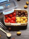 1PC صندوق الغداء البلاستيك سهلة الاستخدام مطبخ