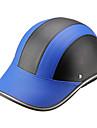 Capacete de motor bone de beisebol estilo seguranca chapeu duro anti-uv blueblack