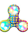 Toupies Fidget Spinner a main Jouets Tri-Spinner LED Spinner Plastique EDCEclairage LED Soulagement de stress et l\'anxiete Jouets de