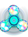 Toupies Fidget Spinner a main Jouets Tri-Spinner LED Spinner Focus Toy Soulage ADD, TDAH, Anxiete, Autisme Soulagement de stress et