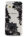 Case For Samsung Galaxy A5(2017) A3(2017) Transparent Pattern Embossed Back Cover Lace Printing Soft TPU for A3(2017) A5(2017) A5 A3