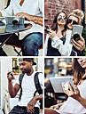 Skrivebord Universal / Mobiltelefon Monter stativholder Justerbar Stander / 360° Rotation Universal / Mobiltelefon Polycarbonat Holder
