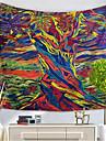 Abstrato Decoracao de Parede Poliester / Poliamida Classico Arte de Parede, Tapetes de parede Decoracao