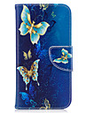 Case For Samsung Galaxy Card Holder Wallet with Stand Flip Magnetic Pattern Full Body Cases Butterfly Hard PU Leather for J3 (2016) J3
