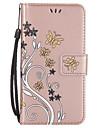 Coque Pour Samsung Galaxy S8 Plus S8 Portefeuille Porte Carte Avec Support Clapet Relief Coque Integrale Fleur Dur Cuir PU pour S8 S8