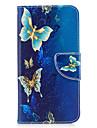Для huawei p10 lite p8 lite (2017) phone case pu кожаный материал золотой узор бабочки окрашен p10 p9 lite p9 y5 ii честь 6x