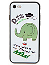 Case for Apple iPhone 7 7Plus  Elephant Word Phrase Pattern Soft TPU Back Cover for Apple iPhone 6s plus 6 plus 6s 6