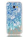 케이스 제품 Samsung Galaxy A5(2017) A3(2017) 투명 패턴 뒷면 커버 만다라 소프트 TPU 용 A3 (2017) A5 (2017)