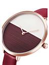 Жен. Модные часы Наручные часы Повседневные часы Китайский Кварцевый PU Группа минималист Cool Повседневная Элегантные часы Черный Белый