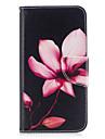 Para huawei p10 lite p8 lite (2017) caixa de telefone pu material de couro padrao de lotus pintado p10 p9 lite p9 y5 ii honra 6x