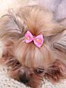 Dodaci za kosu Odjeća za psa Mašna Bijela Fuksija Crvena Plava Pink Tekstil Kostim Za kućne ljubimce Muškarci Žene Slatko Ležerno/za