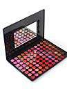 Professional 88 Colors Lip Gloss Lip Balm Makeup Palette Sexy Moisturizer Cosmetic Shimmer with Mirror Sponge Brush Moisture Essence Base Kit