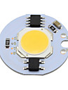 5w cob levou light cob chip 220v smrat ic para diy downlight spot light ceiling lightg warm / cool white (1 peca)