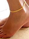 Leaf Anklet - Women\'s Gold / Silver Fashion Anklet For Daily / Casual