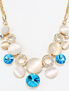 Femme Autres Coeur Original Mode euroamericains Colliers Declaration Bijoux Cristal Alliage Colliers Declaration , Soiree Autre