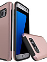 Case For Samsung Galaxy S7 edge S7 Shockproof Back Cover Solid Color Hard PC for S7 edge S7 S6 edge S6