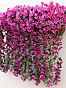 زهور اصطناعية 1 فرع النمط الرعوي نباتات أزهار الحائط