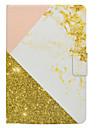 Etui pour samsung galaxy tab t580 t560 rose or marbre modele pu materiel en cuir housse de protection plate t550 t530 t350 t330 t280