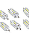 6PCS 5W 150lm LED 콘 조명 36 LED 비즈 SMD 2835 따뜻한 화이트 차가운 화이트 110-240V 110-120V 220-240V
