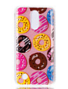 Case For LG K10 (2017) K8 (2017) Double IMD Case Back Cover Case Doughnut pattern Soft TPU
