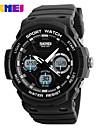 Homme Quartz Numerique Montre numerique Montre Bracelet Montre Smart Watch Montre Militaire Montre de Sport Chinois Calendrier Grand
