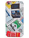 Case for apple iphone 7 plus 7 обложка обложка задняя крышка чехол слово / фраза мультфильм жесткий ПК iphone 6s плюс 6 плюс