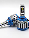 70w 7200lm 9005 hb3 필립스 led 램프 헤드 라이트 키트 자동차 빔 전구 6000k 업그레이드