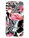 Назначение iPhone X iPhone 8 Чехлы панели С узором Задняя крышка Кейс для Фламинго Мягкий Термопластик для Apple iPhone X iPhone 8 Plus