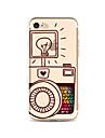 Coque Pour Apple iPhone X iPhone 8 Plus Transparente Motif Coque Arriere Bande dessinee Flexible TPU pour iPhone X iPhone 8 Plus iPhone 8