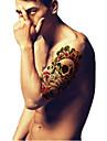 Temporary Tattoos Arm Leg Totem Series 3D Waterproof Tattoos Stickers Non Toxic Glitter Large Fake Tattoo Body Jewelry  Halloween Gift 22*15cm