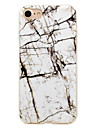 Case For iPhone 7 Plus 7 Phone Case Lines Marble Pattern Smooth IMD Crafts TPU Material Soft Phone Case for 6s Plus 6 Plus SE 5S 5