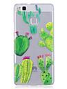 Caso para huawei p10 lite p10 telefone caso tpu material imd processo cactus padrao hd telefone caso honra 8 p9 lite p8 lite y6 ii y5 ii