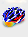 Bike Helmet Cycling 22 Vents One Piece Eyewear Accessories Set EPS Cycling