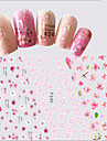 1 Adesivos para Manicure Artistica Meninas e Jovens Mulheres Efeito 3D Artigos DIY maquiagem Cosmeticos Designs para Manicure