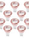 5W GU10 Lampadas de Foco de LED 1 leds COB Decorativa Branco Quente Branco Frio 400-500lm 2800-3200/6000-6500