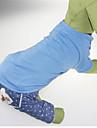 Собака Толстовка Одежда для собак На каждый день Однотонный Оранжевый Красный Зеленый Синий Костюм Для домашних животных