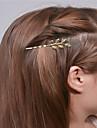 Evropa a Spojené státy zahraniční obchod móda jednoduché vlasy doplňky osobnost žolík vlasy klipy list okraj vlasy a0307-0308