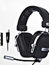ajazz-ax300 Headband Wired Headphones Planar Magnetic Aluminum Alloy Fabric Plastic Gaming Earphonewith Microphone with Volume Control
