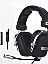 ajazz-ax300 Bandeau Cable Ecouteurs Dynamique Aluminum Alloy Tissu Plastique Jeux Ecouteur Confort ergonomique Avec controle du volume