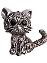 Women\'s Brooches - Cat, Animal Brooch Black For Wedding / Casual / Evening Party