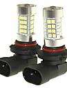Sencart 2pcs 9005 p20d ampoule anti-brouillard lampe a phare lampes (blanc / rouge / bleu / blanc chaud) (dc / ac9-32v)