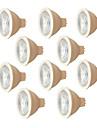 7W 580 lm MR16 LED 스팟 조명 6 LED가 SMD 3030 따뜻한 화이트 화이트 AC 220V