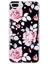 Case for Apple iPhone 7 Plus iPhone 7  Cover Pattern Back Cover Case Flower Soft TPU  for iPhone 6s Plus iPhone 6 Plus iPhone 6s iPhone 6